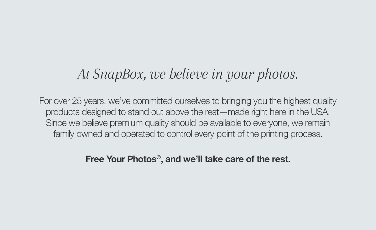 The New SnapBox - Snaps: A Blog from SnapBox